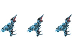 Battlefleet Gothic: Eldar Nightshade Destroyers