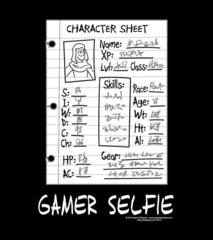 T-Shirt - Gamer Selfie