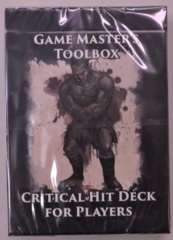 Game Master's Tooklbox Critical Hit Deck for Players