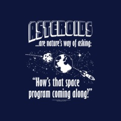 T-Shirt - Asteroids