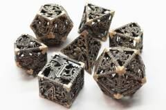 Hollow Dice - Ancient Gold