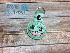 Snap-Tab Keychain Bulbasaur