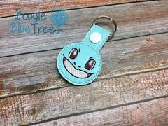 Snap-Tab Keychain Squirtle