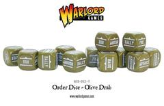 Bolt Action Orders Dice (Olive Drab)