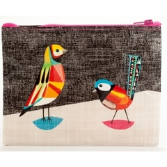Pretty Bird Zipper Pouch