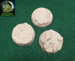 32mm Lava/Water Resin Bases - 005