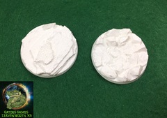 40mm Rocky Assortment Bases - 009