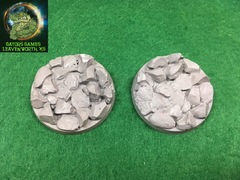40mm Rocky Bases - 012