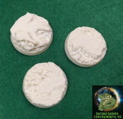 32mm Lava/Water Resin Bases - 019