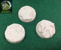 32mm Lava/Water Resin Bases - 020
