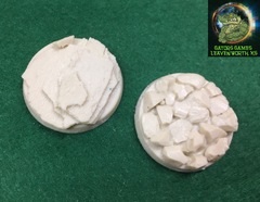 40mm Rocky Assortment Bases - 023