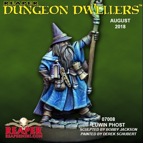 Luwin Phost, Adventuring Wizard