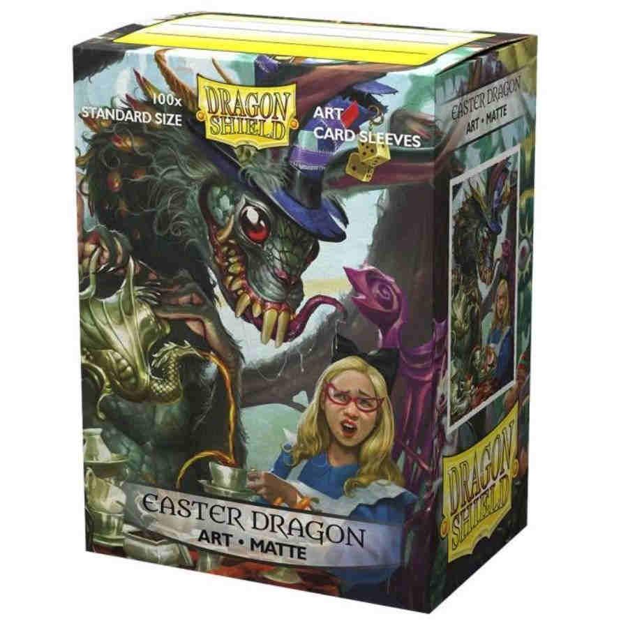 Dragon Shield Sleeves: Matte Art Easter Dragon (100)