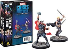 Marvel : Crisis Protocol - Thor and Valkyrie