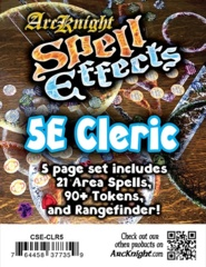 Arcknight 5E Cleric Spell Effects