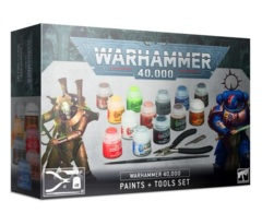Warhammer 40000 : Paints + Tools Set