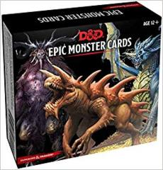 Dungeons and Dragons Epic Monster Cards