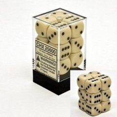 12D6 Opaque Ivory w/Black - CHX25600