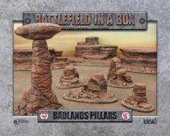 Battlefields in a Box - Badlands Pillars