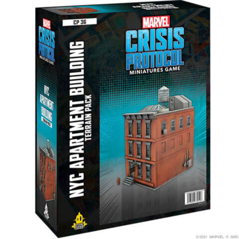 Marvel Crisis Protocol : NYC Apartment Building Terrain Pack
