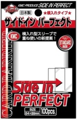 KMC - Perfect Size Sleeve: Side-In Clear 100-Count
