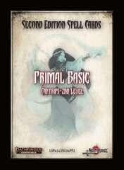 Pathfinder 2E - Spell Cards : Primal Basic