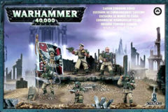Astra Militarium Cadian Command Squad