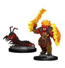 Wardlings: Fire Orc & Fire Centipede