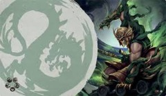 Legend of the Five Rings: Dragon Playmat