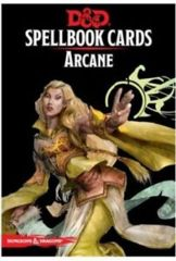 Dungeons and Dragons Spellbook Cards - Arcane Deck