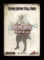 Pathfinder 2E - Spell Cards : Arcane Basic