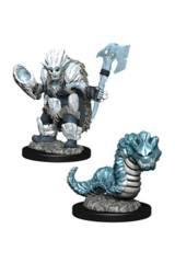 Wardlings; Ice Orc & Ice Worm
