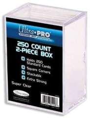 Ultra Pro 250-Count 2-Piece Plastic Box