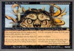 B.F.M. (Big Furry Monster) - Both Halves
