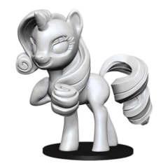 Wizkids Unpainted Mini - My Little Pony Rarity