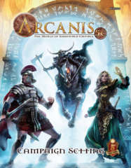 Arcanis 5th Edition Core Rulebook/Campaign Setting