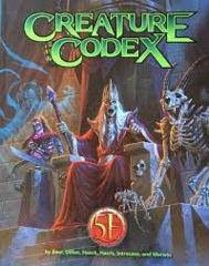 Creature Codex (5E)