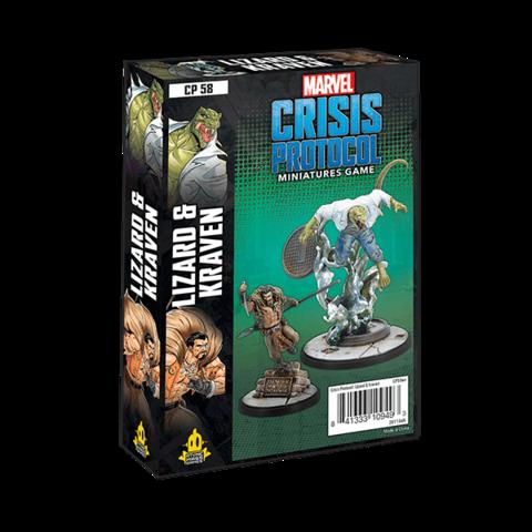 Marvel Crisis Protocol : Lizard & Kraven