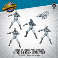 Monsterpocalypse Unit Expansion S-Type Shinobi/Interceptor