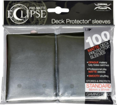 Ultra Pro - Pro Matte Eclipse: Deck Protector 100 Count Pack - Jet Black
