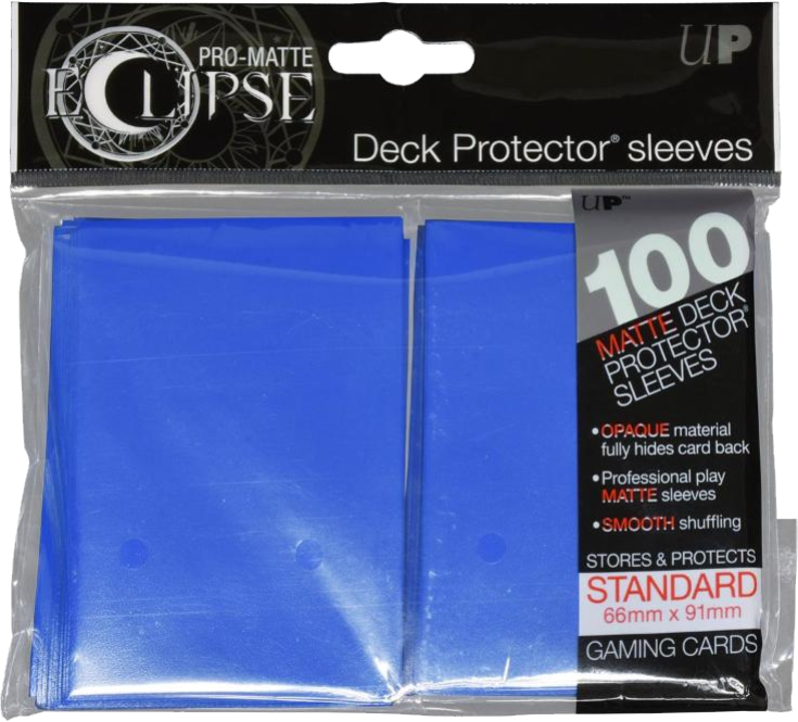 Ultra Pro - Pro Matte Eclipse: Deck Protector 100 Count Pack - Blue