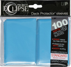 Ultra Pro - Pro Matte Eclipse: Deck Protector 100 Count Pack - Sky Blue