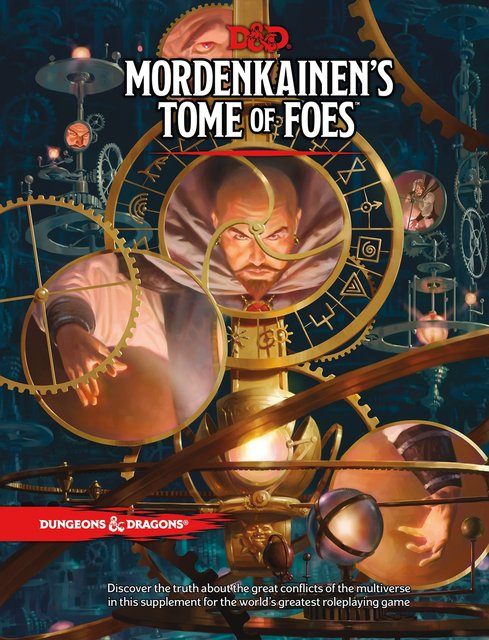 Dungeons and Dragons RPG: Mordenkainens Tome of Foes