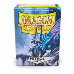 Dragon Shields: (100) Matte Petrol