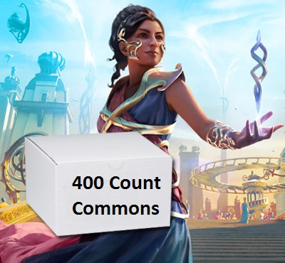 400 Count Random Commons/Uncommons