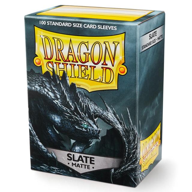 Dragon Shield Sleeves: Matte Slate (Box Of 100)