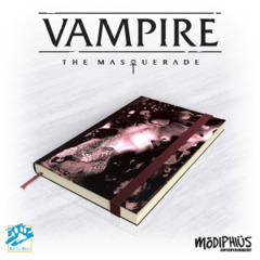 Vampire the Masquerade 5th Ed.: Official Notebook