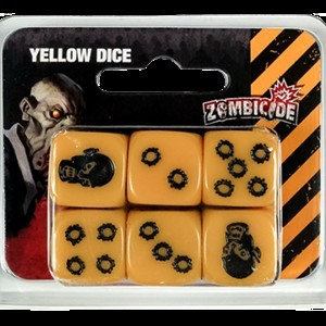 Zombicide: Season 3 Dice Yellow