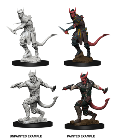 Nolzur's Marvelous Unpainted Miniatures - Tiefling Male