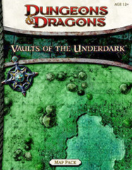 Game Map - Vaults of the Underdark